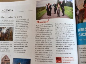 Monteverdi XL in Italie Magazine